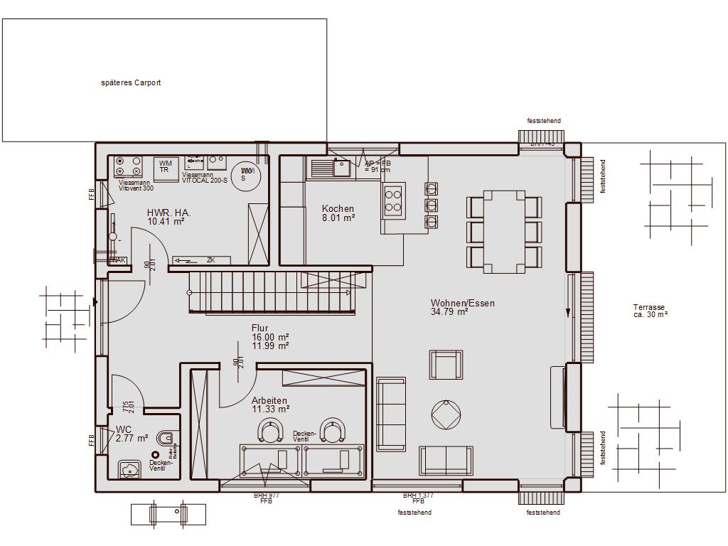 Das haus unser hausbau projekt for Grundriss einfamilienhaus 2 vollgeschosse